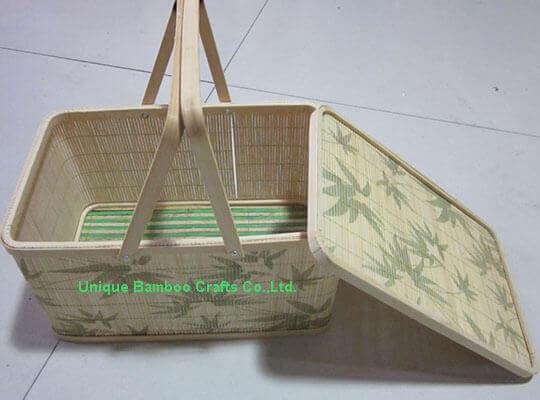 bamboo basket 1-details
