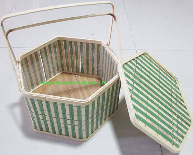 bamboo basket 2-details