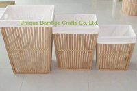 bamboo laundry basket 2