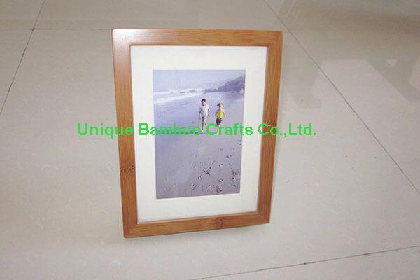 bamboo photo frame 1